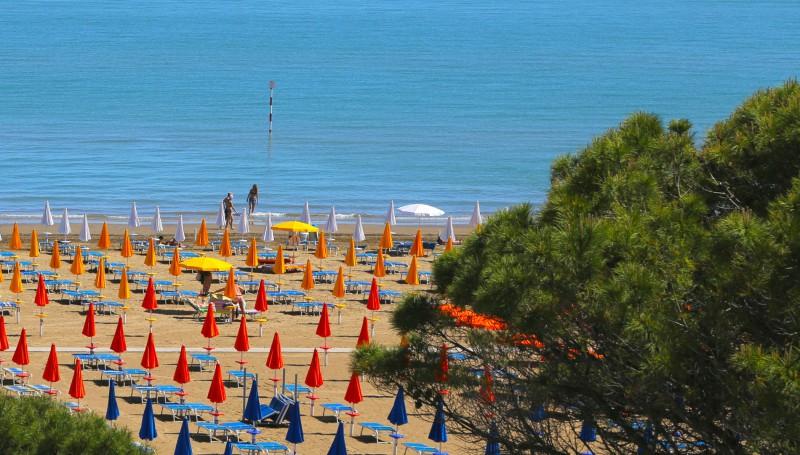 Spiaggia riservata